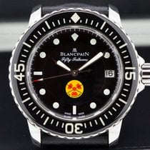 "Blancpain 5015B-1130-52A Fifty Fathoms ""No Radiations"" SS..."