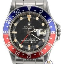 롤렉스 1972 Vintage Rolex GMT-Master 1675 Pepsi Blue Red Mark I...