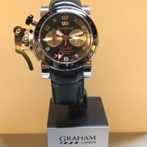 Graham Chronofighter Oversize 2OVGS.B39A.C118S New Steel Automatic