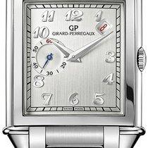 Girard Perregaux Vintage 1945 Steel 33.3mm Silver Arabic numerals