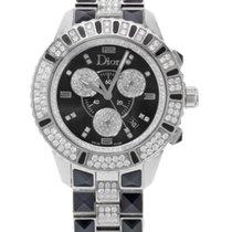 Dior CD11431DM001 Christal Steel And Diamonds Quartz Ladies Watch