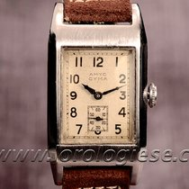 Cyma – Original Vintage 1930`s 3-days Power Reserve Tank Watch...