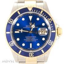 Rolex Submariner Date 16613 Blue Dial Bicolor K-Series