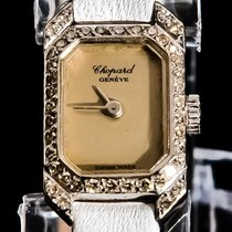 Chopard Vintage 18K Solid White Gold Real Diamonds Top Piece
