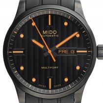 Mido Multifort Day Date Stahl PVD black Automatik Armband...