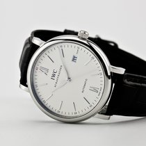 IWC Portofino Automatic Steel 40mm Silver Roman numerals United States of America, Virginia, Williamsburg