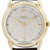 Doxa Yellow gold 36mm Manual winding pre-owned United States of America, California, West Hollywood