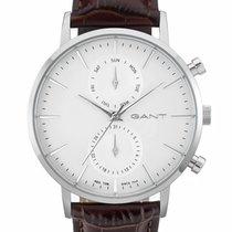 Gant nieuw Quartz 44mm Staal Mineraalglas