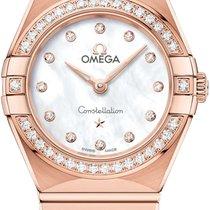Omega Constellation Quartz Or rose 25mm Nacre