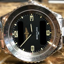 Breitling Chronospace Steel 41.5mm Black United States of America, Pennsylvania, Philadelphia