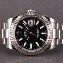 Rolex Datejust II Steel 41mm Black