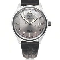 IWC Pilot Mark Steel 38mm Silver Arabic numerals South Africa, Johannesburg