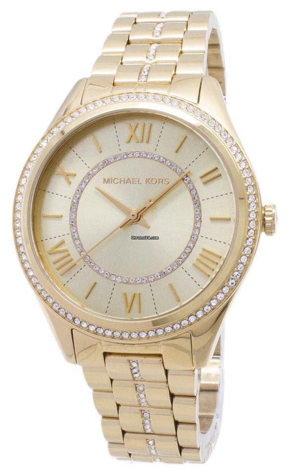 fotos oficiales b1b84 1c5da Michael Kors Lauryn Pave Quartz MK3719 Women's Watch