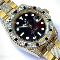 Rolex 116758 SANR Yellow gold GMT-Master II 40mm pre-owned
