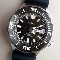 Seiko new Automatic Center Seconds Luminescent Hands Rotating Bezel Screw-Down Crown Luminous indexes PVD/DLC coating 42mm Steel Mineral Glass