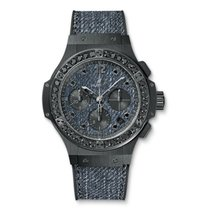 Hublot Ceramic Automatic Blue 41mm new Big Bang Jeans