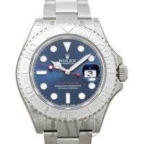 Rolex Yacht-Master 40 новые Часы с оригинальными документами и коробкой 126622 blue