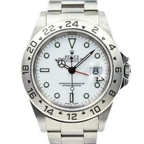 Rolex Explorer II Steel 40mm White United States of America, Indiana, Carmel