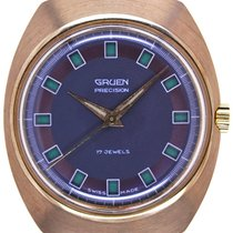 Gruen Yellow gold 37.4mm 510RSS CA pre-owned