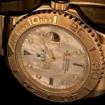 Rolex Yacht-Master 166288 madre perla diamanti 2004 pre-owned