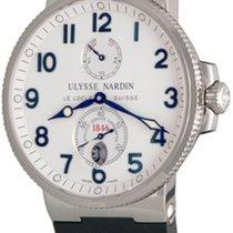 Ulysse Nardin Marine Chronometer 41mm Сталь 41mm Cеребро Aрабские