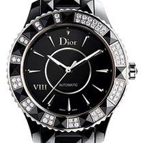 Dior VIII Ceramic 38mm Black No numerals United States of America, New York, Greenvale