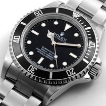 "Rolex 2008 SS 40mm No-Date Submariner ""4-Liner"" Bezel Engraved"