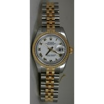 Rolex Datejust 179173 Lady's Steel and 18K Yellow Gold...