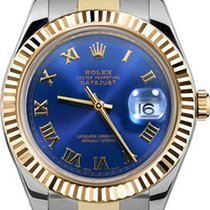 Rolex 41mm Datejust II 116333 Custom Blue Roman