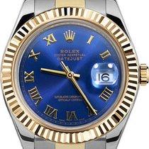 Rolex Datejust II Stal 41mm Niebieski