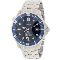 Omega Seamaster 007 Professional 41MM Blue Dial Steel Mens...