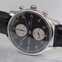 IWC Portuguese Chronograph automatic panda style dial