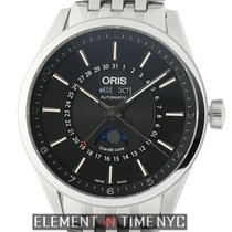 Oris Artix Complication Steel 42mm Black Arabic numerals United States of America, New York, New York