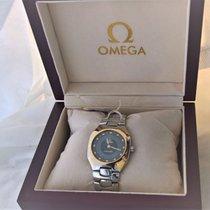Omega Gold / steel Seamaster Polaris, multifunction