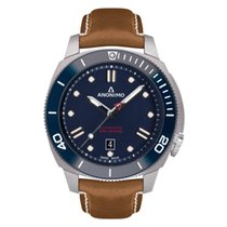 Anonimo Nautilo Automatic Stainless Steel Blue Dial NEW