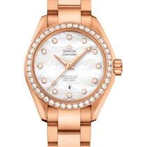 Omega Seamaster Aqua Terra Rose gold 34mm Mother of pearl