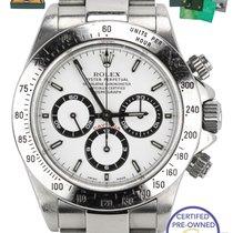 Rolex 1999 Rolex Daytona Cosmograph Zenith White 40mm 16520 A...