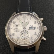 IWC Pilot Spitfire Chronograph stainless Steel Full Set