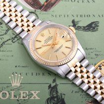 Rolex 1984 18K/SS Datejust Champ Tapestry w/ Original Box &...