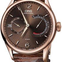 Oris Rose gold Manual winding Brown new Artelier Calibre 111