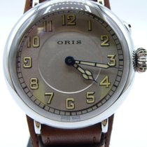 Oris Big Crown 1917 Limited Edition Steel 40mm Silver Arabic numerals