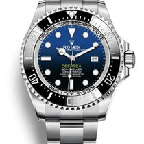 Rolex Sea-Dweller Deepsea Сталь 44mm Синий Без цифр Россия, Москва
