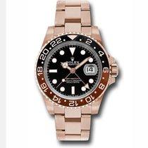 Rolex 126715 Pозовое золото GMT-Master II 40mm подержанные