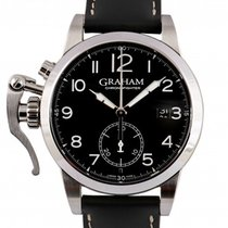 Graham Steel 42mm Automatic 2CXAS pre-owned UAE, Dubai