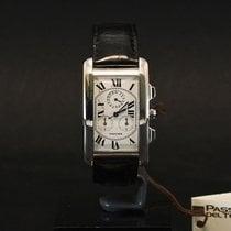 Cartier Tank Américaine White gold Roman numerals