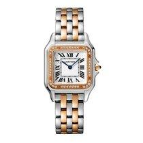 Cartier Acero y oro 27mm Cuarzo W3PN0007 nuevo