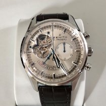 Zenith El Primero Chronomaster Steel 42mm Silver No numerals United States of America, New York, Brooklyn