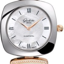 Glashütte Original Pavonina Gold/Steel 31mm Mother of pearl