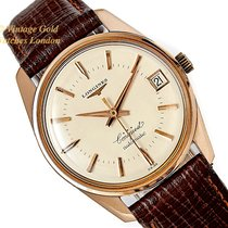 Longines Conquest Yellow gold 35mm Champagne United Kingdom, London