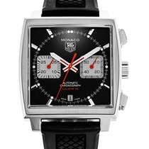 TAG Heuer Monaco Calibre 12 Steel 39mm Black
